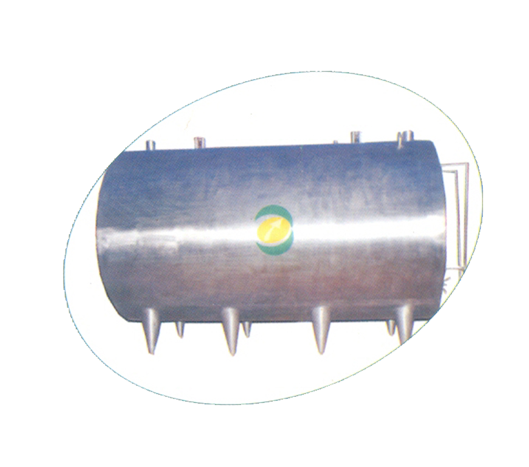 PUF Insulated Horizontal Milk Storage Tank