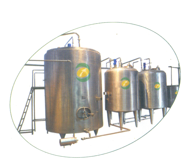 PUF Insulated Vertical Milk Storage Tank